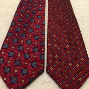 Set Of Stylish Corporate Ties By ROBERT TALBOTT